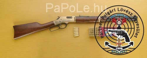 Gyártó: Henry Repeating Arms, Kaliber: 44 R.M., Fegyver típusa: Henry Big Boy