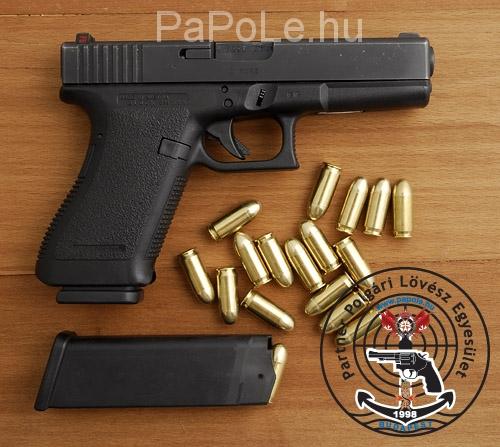Gyártó: Glock, Kaliber: 9mm, Luger Fegyver típusa:  17 GEN III