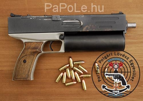 Gyártó: Danuvia, Kaliber: 9mm Luger, Fegyver típus: MV