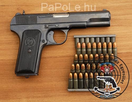 Gyártó: FEG, Kaliber: 7.62×25 Tokarev, Fegyver típusa: TT