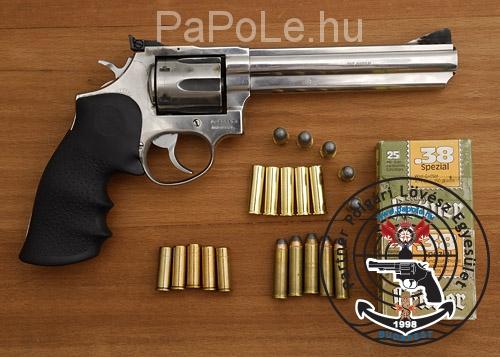 Gyártó: Smith&Wesson, Kaliber: .357 M / 38. Sp, Fegyver típus: M 686-5