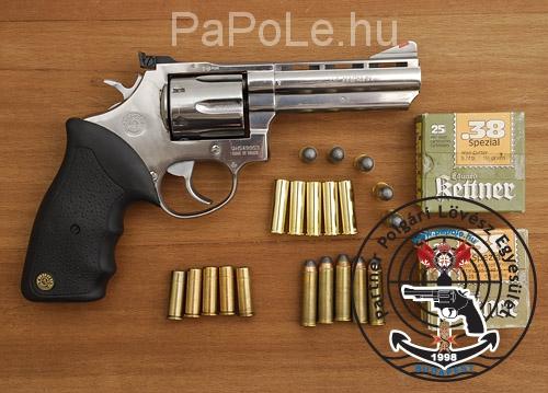 Gyártó: Taurus, Kaliber: .357/38. Sp, Fegyver típus: REV 6 M 689