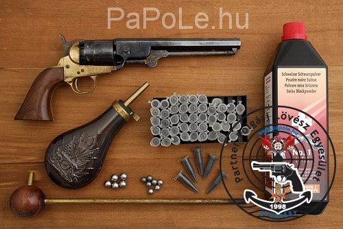 Gyártó: Pietta, Kaliber: .44, Fegyver típus:  Colt Navy