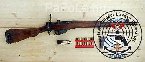 Gyártó: Enfield, Kaliber: 303 British, Fegyver típusa: Lee-Enfield No 5 MK I. (Jungle Carbine)