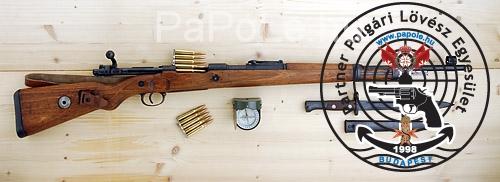 Gyártó: Mauser (Obersdorf), Kaliber: 8.57 Mauser, Fegyver típusa: KAR 98K