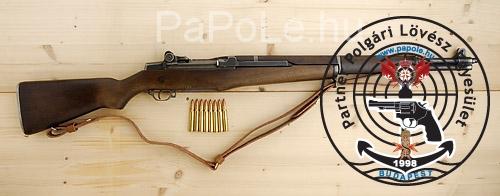 Gyártó: Springfield, Kaliber: 30-06, Fegyver típusa: M1 GARAND