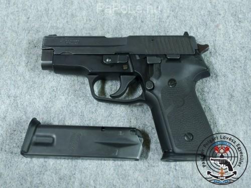 Gyártó: Sig-Sauer, Kaliber: 9mm Luger, Fegyver típusa: P2 28, Ár: Hamarosan