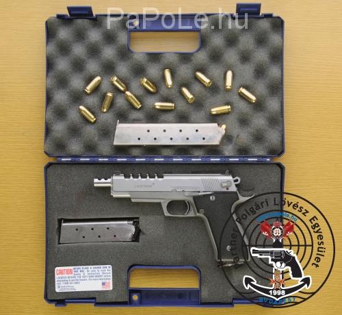 Gyártó: Lasseraim, Kaliber: .45 Auto, Fegyver típusa: Little Rock