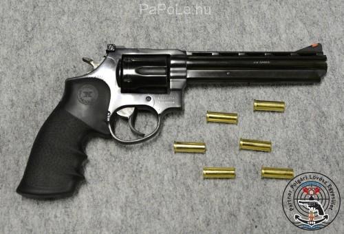 Gyártó: Taurus, Kaliber: 357 M/38 Sp, Fegyver típusa: M698, Ár: Hamarosan